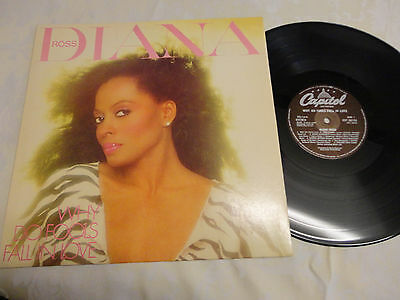 Diana Ross Why Do Fools Fall in Love LP 1981 EST26733 *EX/NEAR MINT**INNER**