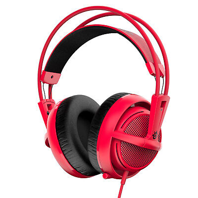Casque Gaming Steelseries Siberia 200 - Forged Red pour PC et PS4