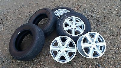 4 x Ford  XLT 2013 Ranger PX wheels and 265/65 r17 tyres