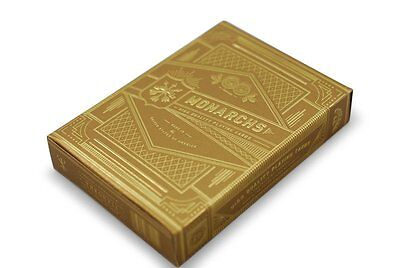 Gold Monarch Rare Playing Cards Theory 11 New and Sealed