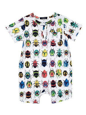 Fred Bare Baby Boys Beetle Romper One Piece