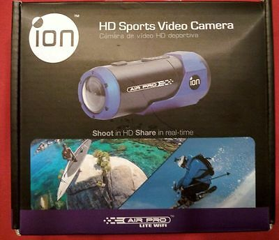 iON Air Pro Camcorder WiFi  HD Sports Video Camera NIB  skateboard Action CAM