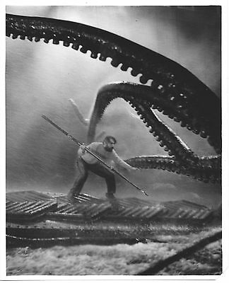 20,000 Leagues Under The Sea/8X10 Rare Orig. Contact Enlargement Cc17188 1-317