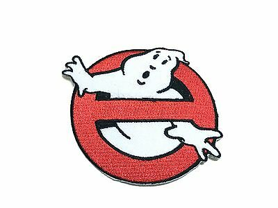 GHOSTBUSTERS Movie Logo Clothing Patch Badge sew/iron on Set