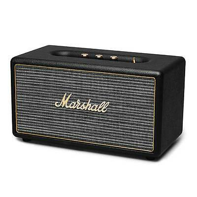 Marshall Stanmore Speaker - Black with Bluetooth, Optical, RCA, 3.5mm Marshall