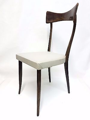vintage ico parisi chair - armchair - 6 available mid century modernism chairs
