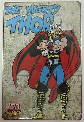 The Mighty Thor Metal Sign