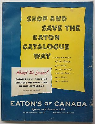 1956 Eaton's of Canada Spring and Summer Catalog