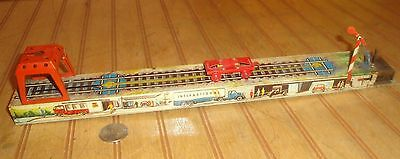 Antique Vintage Arnold Tin Windup Coal Train Loading Car Toy as-is damaged