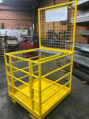 Forklift Safety Cage Work Platform Man Cage Come w/h Tool Tray $669+ Negotiable