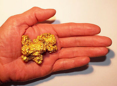 GIANT 205 Gram 6.59 Oz Gold Natural Australian Nugget Investment Bullion Nuggets