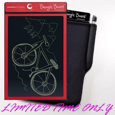 Boogie Board Original 8.5 inch LCD eWriter - RED only with FREE case SALE!!!