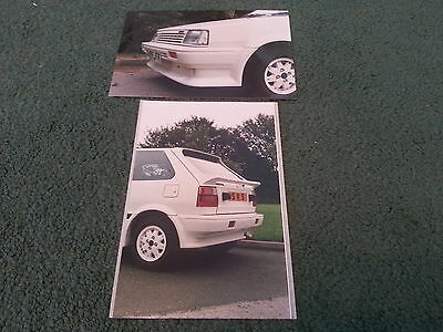 1987 / 1988 Nissan MICRA 3DR SILVER KNIGHT BODYSTYLING KIT PHOTOS - NOT BROCHURE
