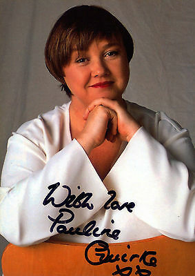 Pauline Quirke Autograph Signed Photo Preprint Glossy Portrait Picture