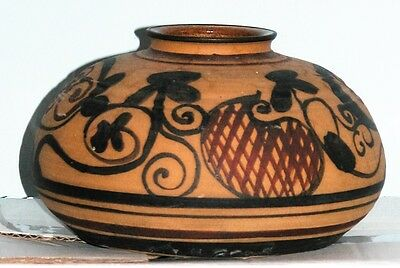 Israel, Old Jaffa, Pottery Vase Handcrafted and  Painted