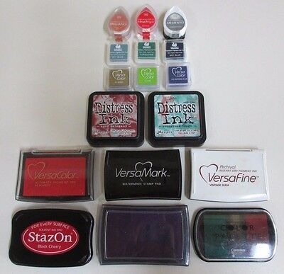 Seventeen Craft Pigment Ink Pads