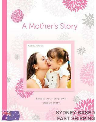 A Mother's Story personal record book journal