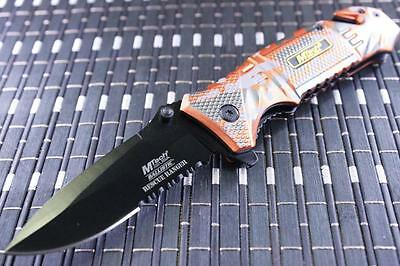 *CAN* Tactical Spring Assisted Blade folding Open Pocket Knife A804EM-MT