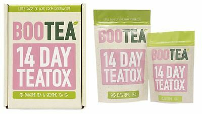Bootea Teatox -  14 Daytime Tea Bags & 7 Bedtime Cleanse Tea Bags Boxed