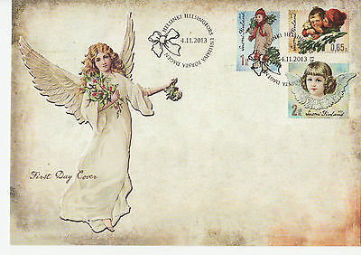 Finland 2013 FDC - Christmas - with set of 3 stamps