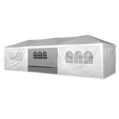 White 4x8m Outdoor Event Marquee - Party Tent - Gazebo