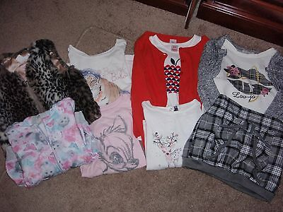 Girl's clothing bulk lot - 9 pieces - Size 6