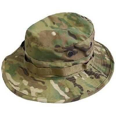 US Army OCP MULTICAM NyCoTactical Hat Boonie Cap Mütze S