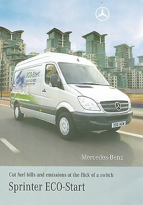 2008/09 Mercedes Sprinter Eco-Start Brochure