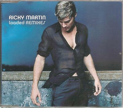 Ricky Martin - Loaded Remixes Cd Single 5 Tracks 2001 Excellent Condition