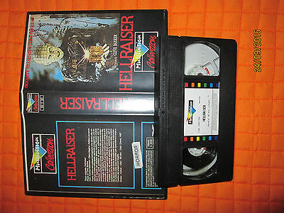 VHS HELLRAISER NON CI SONO LIMITI Clive Barker MULTIVISION COLLECTION