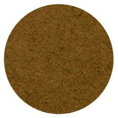 Coasters 4 X Round Mdf Board D-I-Y Decorate 9.5Cm Across X 3Mm Thick Brand New