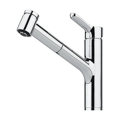 FRANKE MEOS CHROME PULL-OUT SPRAY Kitchen Tap Single Lever Brand New!!!