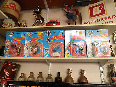 Set Of 5 1994 Tyco Looney Tunes Action Figures Bugs Bunny etc Collection Only