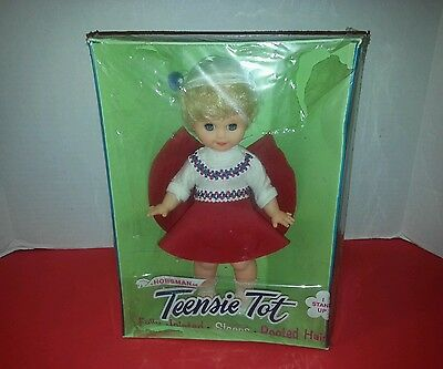 "Vintage Teensie Tot Fully Jointed 11-12"" Doll. Made in USA"
