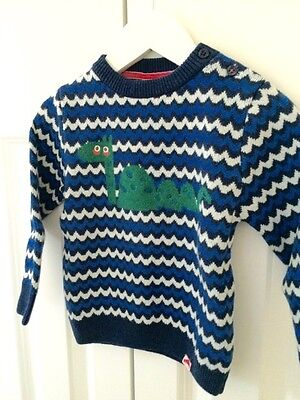 TOOTSA MACGINTY sea monster jumper 6-12 months BNWT **CLEARANCE SALE**
