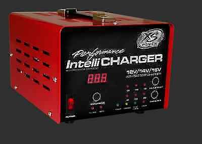 XS Power 1005 12Volt//16 Volt Car Audio//Racing Battery Intellicharger//Charger