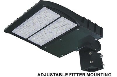 Shoe-box 90w LED Parking Lot Light Fixture UL DLC approved - 5yrs warranty