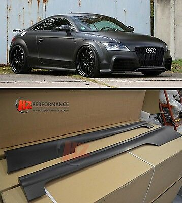AUDI TT TTS 8J MK2 TO TTRS SIDE SKIRTS | PP PLASTIC | UK STOCK tdi quattro fsi