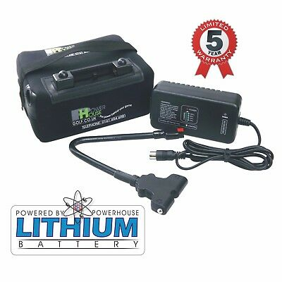 Powerhouse Golf 12V 18-27 Hole Lithium Golf Trolley battery