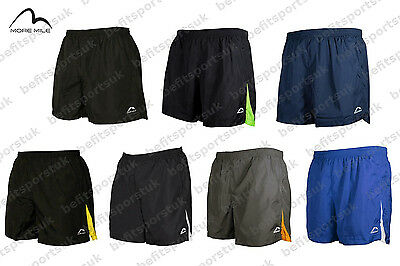 "More Mile Mens 5 Inch Active Running Jogging Fitness Gym Shorts 5"" S M L Xl Xxl"