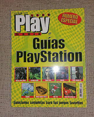 Playmania Especial Guías Playstation Nº 4 (Silent Hill Metal Gear Solid Driver)
