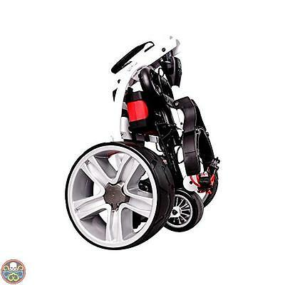Score Industries Bianco Golftrolley Spina Rosso Trolley Mocad 3.5 35053 Nuovo
