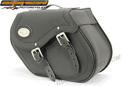 Harley Davidson Dyna 2007/2016 FXDF - Fat Bob  Long Ride Click Lock Saddle Bags