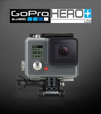 GoPro HERO+ LCD Action Camera Camcorder,1080p, Wi-Fi- Latest Stock, New & Sealed