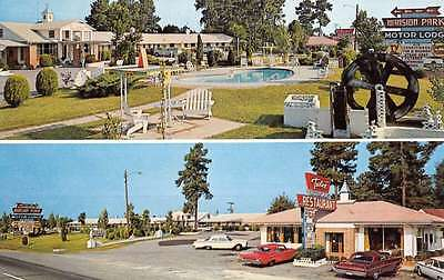 Santee South Carolina Mansion Park Motor Lodge Vintage Postcard K51463