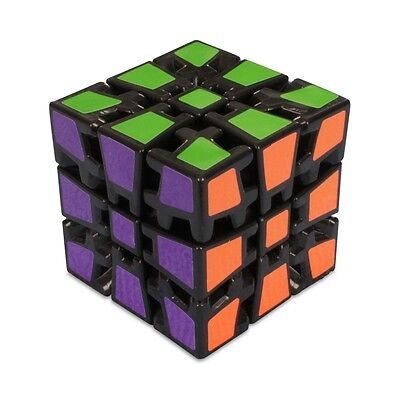 QuickFinger Gear 3x3 - V3 Twisty Magic Puzzle Speed Cube Toy Kids Mind Game