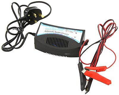 12V 1.5A Automatic Trickle Boat Battery Slow Charger Marine Maintenance Leisure