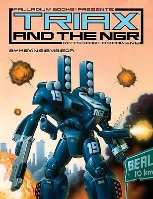 Rifts RPG: World Book 5 Triax and the NGR PAL 0810