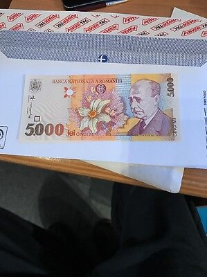 5000 Lei Banknote Of Romania