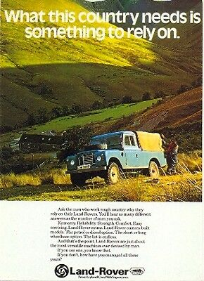 "Land Rover Series 3 LWB"" - Modern postcard by Vintage Ad Gallery"
